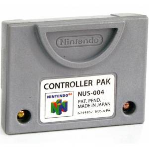 Controller Pak (official Nintendo) [N64 - used good condition / loose]