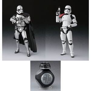 Star Wars: The Last Jedi - Captain Phasma / First Order Stormtrooper / BB-9E Set [SH Figuarts]