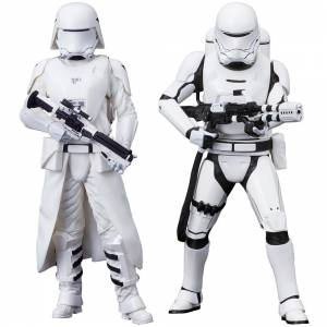 Star Wars: The Force Awakens - First Order Snowtrooper & Flametrooper set [ARTFX+]