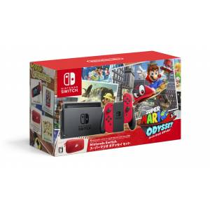 Nintendo Switch Super Mario Odyssey Set [Brand new]
