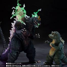 Godzilla vs SpaceGodzilla - SpaceGodzilla & LittleGodzilla - Limited Edition [SH MonsterArts]