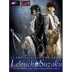 Clamp Works In Code Geass - Lelouch & Suzaku Limited Edition [G.E.M.]