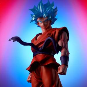 Dragon Ball Super: SSGSS Son Goku Kaiohken 10 times ver. Limited Edition [Gigantic Series]