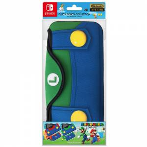 QUICK POUCH for Nintendo Switch - Super Mario Edition Type B (Luigi) [Switch]