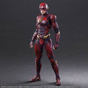 FREE SHIPPING - JUSTICE LEAGUE - Flash [Play Arts Kai]