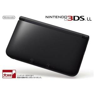 Nintendo 3DS LL (XL) - Black (SPR-S-KKAA) [Brand New]
