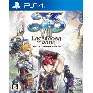 Ys VIII - Lacrimosa of Dana Ys VIII - Lacrimosa of Dana - Standard Edition [PS4-Occasion]