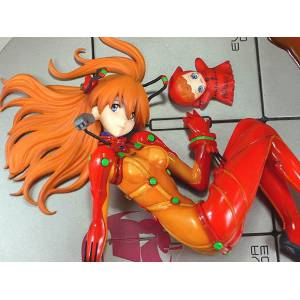 Evangelion : 2.0 You Can (Not) Advance - Asuka Langley Shikinami Test Suit PolyStone Statue [Amie Grand]