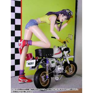 Neon Genesis Evangelion - Motorcycle Misato Unpainted Assembly Figure [Amie Grand]