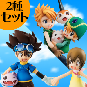 Digimon Adventure -Yagami Hikari & Yagami Taichi / Ishida Yamato & Takaishi Takeru Limited Set [G.E.M.]