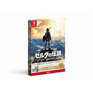 Zelda no Densetsu - Breath of the Wild (Adventure Guide Book & Map Special Pack) [Switch]
