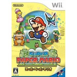 Super Paper Mario [Wii - Used Good Condition]