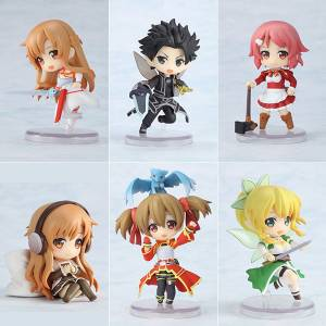 Toy'sworks Collection Niitengo Deluxe - Sword Art Online 6 Pack BOX [Kadokawa / Chara-Ani]