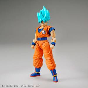 Dragon Ball Z - Super Saiyan God Super Saiyan Blue  Son Goku Plastic Model [Figure-rise Standard]