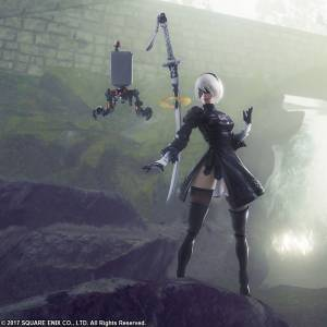 NieR Automata: 2B & Machine (2 Figures Set) [Square Enix]