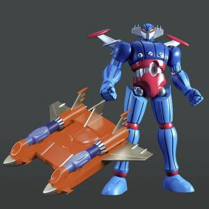Dynamite Action GK! Limited - Steel Jeeg & Big Shooter Build Up Set Special Color Ver. [EVOLUTION TOY]
