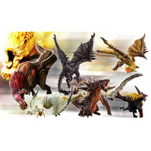 """Monster Hunter"" Standard Model Plus Rage Ver. Kai Reissue 6 Pack BOX [Capcom Figure Builder]"