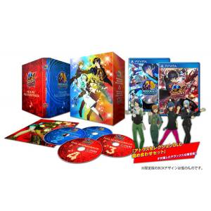 Persona Dancing Deluxe Twin Plus - Famitsu DX Pack 3D Crystal Set [PSVita]