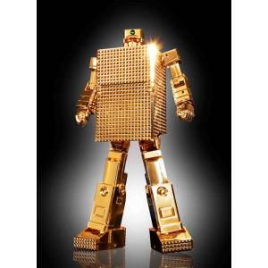 Golden Warrior Gold Lightan - GX-32R Gold Lightan 24 Gold Plating Finish [Soul of Chogokin]