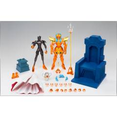 Saint Seiya Myth Cloth EX - Kaiou Poseidon / Sea Emperor Poseidon - Imperial Sloan Royal Ornament Set [Brand New]