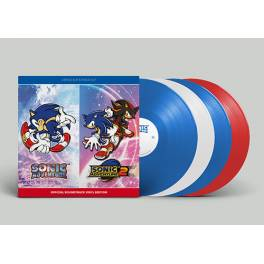 SONIC ADVENTURE 1 & 2 OFFICIAL SOUNDTRACK VINYL SET LIMITED Box [OST]