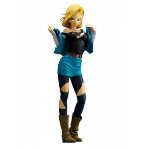 Dragon Ball Z - ANDROID NO.18  / C-18 (Turquoise Blue Color Ver.) [Glitter & Glamours / Banpresto]