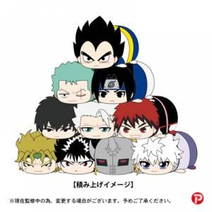 Weekly Shonen Jump 50th Anniversary Jump All Stars - PoteKoro Mascot Part.2 Petite 10 Pack BOX [Plush Toys]