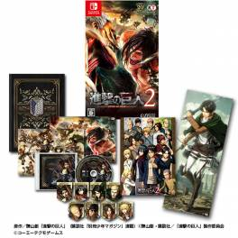 Shingeki no Kyojin 2 / Attack on Titan 2 (GAMECITY Limited Set) [Switch]