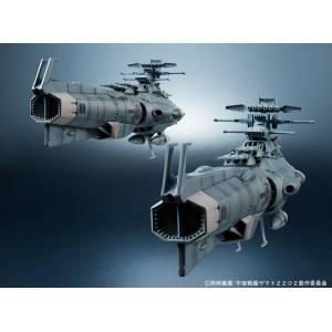 Space Battleship Yamato 2202: Warriors of Love - Kikan Taizen Earth Federation Dreadnought-class Battleships 2Ship Set [Bandai]