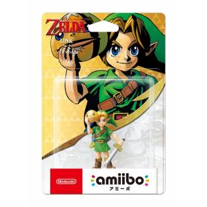 FREE SHIPPING - Amiibo Link (Majora's mask ver.) - The Legend of Zelda series [3DS]