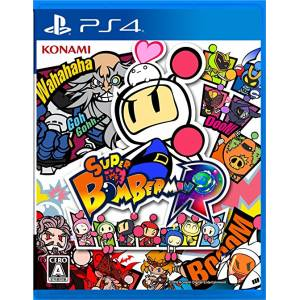 FREE SHIPPING - Super Bomberman R - standard edition [PS4]