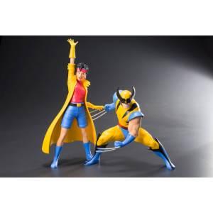 MARVEL UNIVERSE - X-Men: Wolverine & Jubilee 2 Pack [ARTFX+]