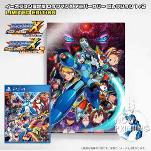 Rockman X Anniversary Collection 1 + 2 - e-Capcom Acrylic Art Limited Set [PS4]