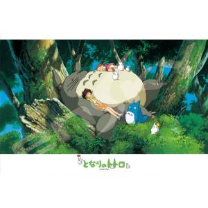 My Neighbor Totoro - A Nap With Totoro 300 pcs Jigsaw Puzzle [Goods]