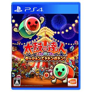 Taiko no Tatsujin Session de Dodon ga Don! - Standard Edition (Full english Support) [PS4-Used]
