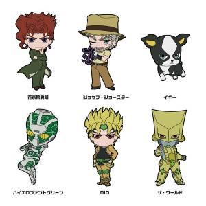"TV Anime ""JoJo's Bizarre Adventure"" - Rubber Strap Collection: Part.3 Vol.2 6 Pack BOX [Goods]"