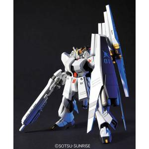 Mobile Suit Gundam: Char's Counterattack - Nu Gundam (Heavy Weapons System Type) Plastic Model [1/144 HGUC / Bandai]