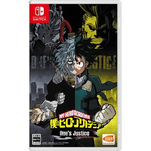 Boku no Hero Academia One's Justice / My Hero Academia One's Justice - Standard Edition [Switch]