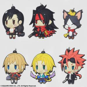 Final Fantasy - Trading Rubber Strap Vol.2 6 Pack BOX [Square Enix]