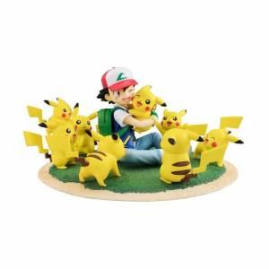 Pokemon - Satoshi / Ash & Pikachu Pikachu ga Ippai Ver. limited edition (Female Pikachu Bonus) [G.E.M.]