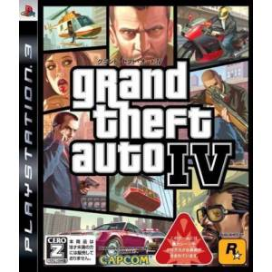Grand Theft Auto IV - 1st print [PS3]