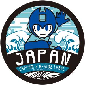 CAPCOM x B-SIDE LABEL Sticker - Mega Man 11: Japanese-style Mega Man [Goods]