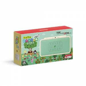 New Nintendo 2DS LL (XL) ANIMAL CROSSING: NEW LEAF AMIIBO+ PACK [Brand New]