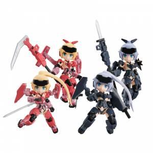 Desktop Army Frame Arms Girl KT-323f Jinrai Series 4 Pack BOX [Megahouse]