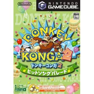 Donkey Konga 2 - Hit Song Parade [NGC - used good condition]