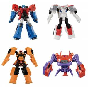 TRANSFORMERS ADVENTURE - TAV49 EZ COLLECTION AUTOBOT & CLAMP DOWN SET