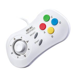 Neo Geo Mini PAD White Ver. [SNK - Brand new]