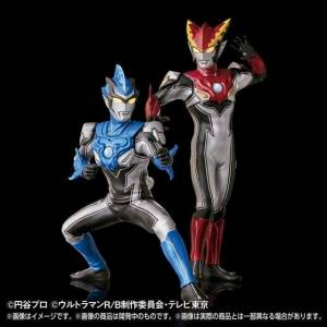 Ultraman R/B - Ultraman Rosso Flame & Ultraman Blu Aqua - Ultimate Luminous Limited Set [Bandai]