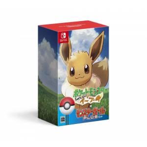 FREE SHIPPING - Pokemon: Let's Go, Eevee! - Monster Ball Plus Set (Multi Language) [Switch]