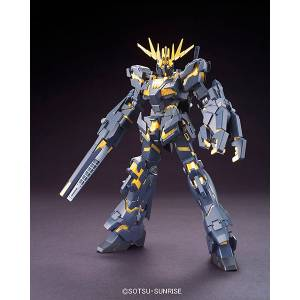 Mobile Suit Gundam Unicorn - 02 Banshee (Destroy Mode) Plastic Model [1/144 HGUC / Bandai]